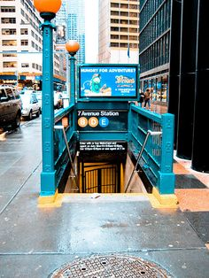 Subways. #NYCLove hae not tried the public transportation system there yet . But it's coming