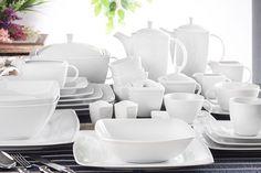LUBIANA VICTORIA Serwis obiadowy i kawowy 153/12 0000 Dinner Plates, Victoria, Ceramics, Table Decorations, Tableware, Kitchen, Home, Ceramica, Pottery