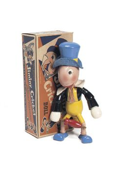 View Catalog Item - Theriault's Antique Doll Auctions - Jiminy Cricket. Now this is something I'd definitely love to own. If I had the big bucks. :)