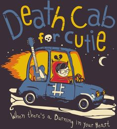 Reverbcity Shop - Camisetas/T-shirts Death Cab For Cutie - Codes and Keys