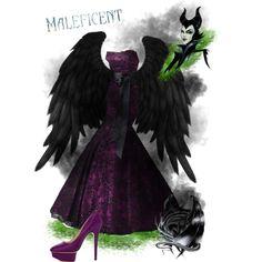 Disney Inspired Looks: Maleficent