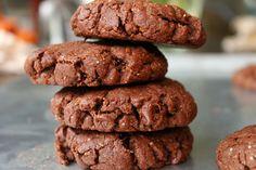 Vegan double chocolate mint cookies from Sugar Beak Bakery