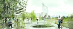 Water Damper Towers | KAMJZ Architects