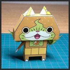 Yo-Kai Watch - Kiwinyan Free Paper Toy Download - http://www.papercraftsquare.com/yo-kai-watch-kiwinyan-free-paper-toy-download.html