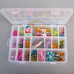 New Plastic Jewelry Cosmetic Make Up Box Accessory Storage Case Holder Organizer - 5$