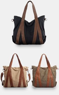 Large Canvas tote bags / women bag / so many tote bags to love, this one ranks up at the top!