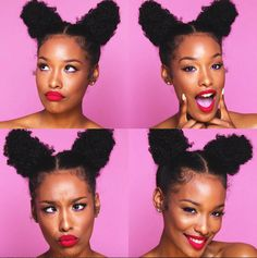 Fun puffs @fabulousbre - http://community.blackhairinformation.com/hairstyle-gallery/natural-hairstyles/fun-puffs-fabulousbre/
