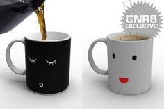 早安馬克杯!喝一杯熱騰騰咖啡才會醒