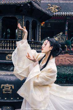 Traditional Chinese Hanfu.