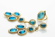 Fine Jewelry Shop: Gemstones Feat. Elizabeth Showers -                                                                        Diamond & Onyx Cross Pendant Necklace                                 Mother of Pearl Large Disc Enhancer Pendant                                 Mother of Pearl Double Disc Drop Earrings                            ...  #Bangle, #Bib, #Brooches, #Cardigan, #Chandelier, #Corset, #Cushion, #Diamond, #Dress, #Enhancer, #PostBack, #Sapphire, #Sh