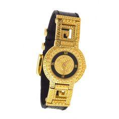 Versace Medusa Watch ❤ liked on Polyvore
