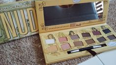 Palette nude'tude the balm 12 couleurs