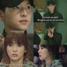 Descendants of the Sun Episode 12 || The way she really believes in him is incredible ❤️