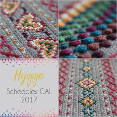 https://haakmaarraak.nl/hygge-cal-the-new-scheepjes-cal-for-2017/; The Scheepjes CAL of 2017 has been announced! Called 'hygge' after the Danish word for cosiness and designed by Kirsten from haakmaarraak.nl, it will be a spectacular warm shawl. During this CAL you will learn multiple techniques to decorate crochet. Textured crochet stitches, cross stitch and surface crochet are all combined to make this beautiful project.