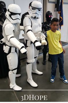Darth Vader Stormed A School To Give A 4th Grader A New Bionic Arm