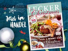 Versüß' dir die schönste Zeit des Jahres mit der neuen LECKER Christmas! Da steckt von der ersten bis zur letzten Seite Weihnachten drin: