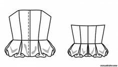 free pattern, pattern sewing, выкройка корсажа, корсаж, выкройки скачать, скачать, шитье, готовые выкройки, выкройки бесплатно