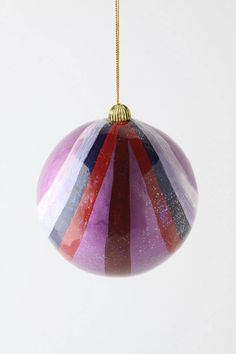 Paint In Color Ornament