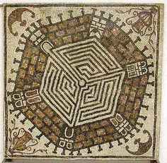 Felix Romuliana  - Unusual six sided labyrinth inside a walled city (4th cent) - Gamzigrad,  Serbia