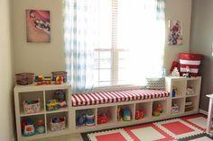 Ikea KALLAX Custom Cushion, Playroom Cushion , Nursery Bench Seat , Organization Bench Seat , Mudroom Cushion Ikea KALLAX Custom Cushion Playroom by HearthandHomeStore Expedit Regal, Ikea Expedit, Cushions Ikea, Seat Cushions, Blue Cushions, Playroom Organization, Ikea Playroom, Ikea Kids Room, Kids Rooms