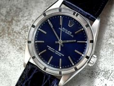 BEAUTIFUL-1968-MIDNIGHT-BLUE-DIAL-ROLEX-OYSTER-PERPERTUAL-GENTS-VINTAGE-WATCH