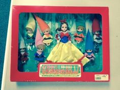 "Takara ""Licca Family"" Snow White & 7 Dwarfs NRFB  **RARE**  free shipping  ~from eBay seller solomonspalace~"