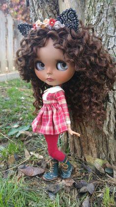 Blythe ✿✿✿ hayyy una curly hair munequita muy hermosa