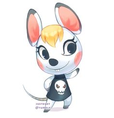 Bella - Animal Crossing Fanart
