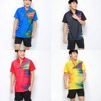 NEW Men's Badminton Wear Kit Athletic Wear Table Tennis Ball Basketball Leisure Running 4 Colors 6 Size K_SMA026