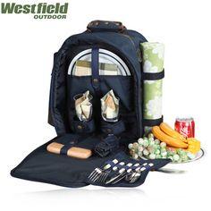 Mochila ao ar livre saco térmico saco de piquenique six pack saco bolsa academia lunch bag 600D oxford pano cesta de piquenique 2 pessoas