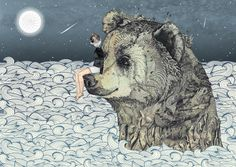 portfolio of illustrator & womanimal Sandra Dieckmann. London, UK.