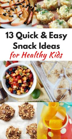 Kids Meals 13 healthy snack ideas for kids for back to school snacks - 13 Kid-friendly healthy snack ideas for after school. Looking for some easy snack recipes for back to school? These are the best healthy snacks kids love Healthy Homemade Snacks, Healthy Food List, Healthy Snacks For Kids, Easy Snacks, Healthy Recipes, Snacks Kids, Snack Recipes, Snack Ideas For Kids, Lunch Ideas