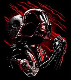 Vader in red