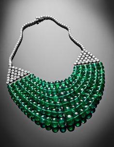 Goshwara Emerald & Diamond Necklace