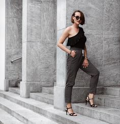 Get this look: http://lb.nu/look/8777779  More looks by Nera K: http://lb.nu/iosononera  Items in this look:  Stradivarius Pants, C&A Top, Sandals