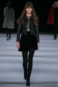 Saint Laurent | Fall 2014 Ready-to-Wear Collection | Style.com #Minimalist #Minimalism #Fashion