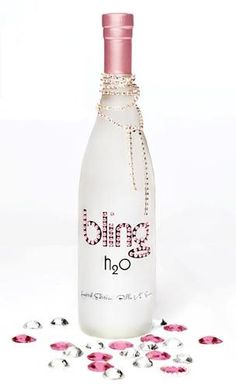 Pink bling water--say what? Glitter Make Up, Sparkles Glitter, Pink Love, Pretty In Pink, My Favorite Color, My Favorite Things, Pink Bling, Perfume, Pink Parties