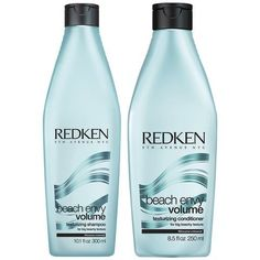 REDKEN Beach Envy Volume Texturizing Shampoo 300ml  Beach Envy Volume Texturizing Conditioner 250ml * Want additional info? Click on the image.(This is an Amazon affiliate link and I receive a commission for the sales)