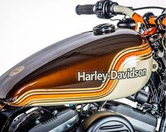 Fuel tank perfection by Image Design Custom. #harleydavidson (Via IG @shawspeed)