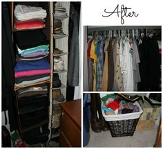 Before and After Organization Photos