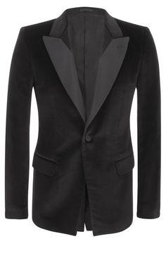 Alexander McQueen | Velvet Tuxedo Jacket