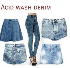 Acid Denim #80's Style