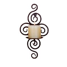 Hot selling Iron Candle Holder Sconce Hanging Wall Art Candlestick for Decoration Weddings