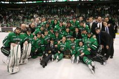 Aaron Dell made 22 saves as North Dakota beat Denver in the championship of the Red Baron WCHA Final Five tonight at Xcel Energy Center. North Dakota Hockey, University Of North Dakota, Canadian People, All About Canada, Fighting Sioux, Grand Forks, The Championship, Cute Boys, Athlete
