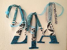 Zeta Tau Alpha Greek Sorority wall letters. This is the perfect gift for RUSH…