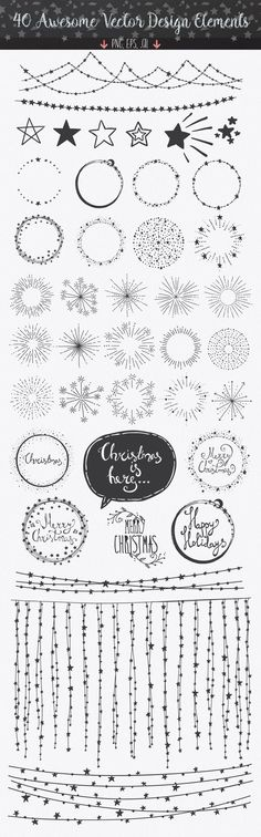 Confetti Brushes for Illustrator by lunalexx on Market - Bullet Journal Bullet Journal Inspo, My Journal, Bullet Journals, Journal Ideas, Bullet Journal Frames, Pens For Bullet Journaling, Bullet Journal Dividers, Bullet Journal Decoration, Bullet Journal Christmas