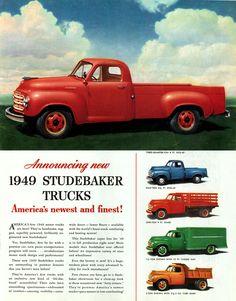 1949 Studebaker Truck Ad ★。☆。JpM ENTERTAINMENT ☆。★。