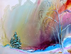 Alcohol Inks on Yupo: Learn to Paint with alcohol inks