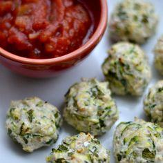 Turkey Zucchini Poppers Recipe Main Dishes, Lunch with ground turkey, zucchini, green onions, cilantro, garlic, pepper