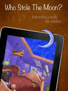 Who Stole The Moon? - free version - Interactive e-book for children by WindyPress
